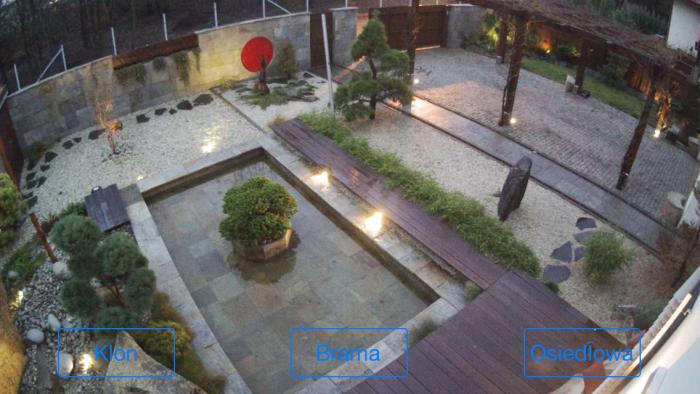 Widok zdalny obrazu z kamerki IP na iPhone