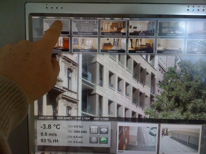 Wizualizacja bud. apartamentowy
